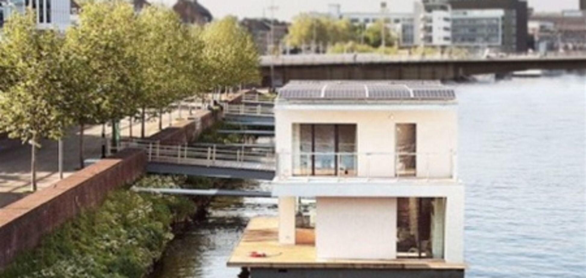 В Нидерландах строят дома на воде, независимые от электросети