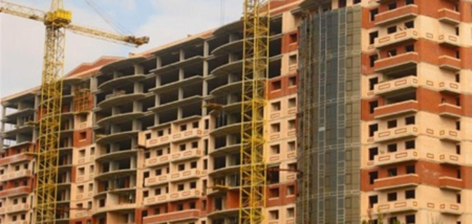 В 2012 году в Украине построили жилья на 33,6 млрд гривен