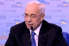 Азаров: уже совершенно очевидно, что Партия регионов победила