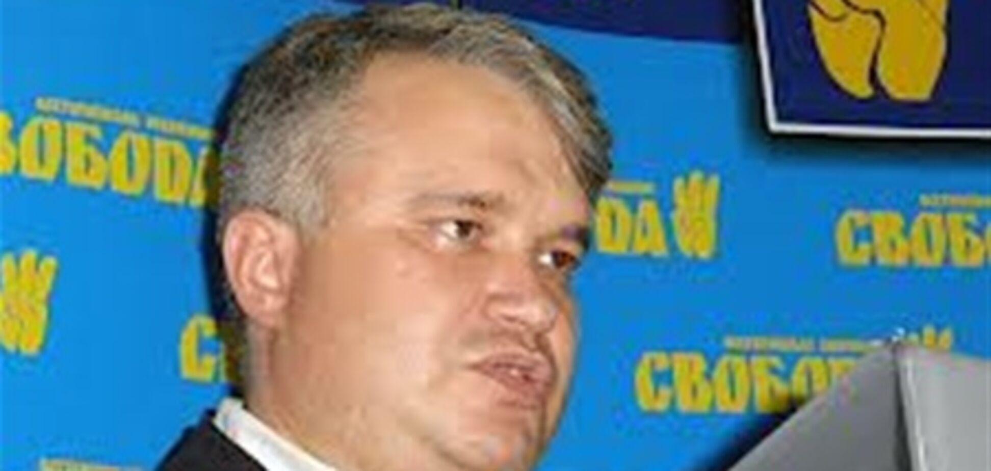Свободівці хочуть бачити в органах влади тільки українців
