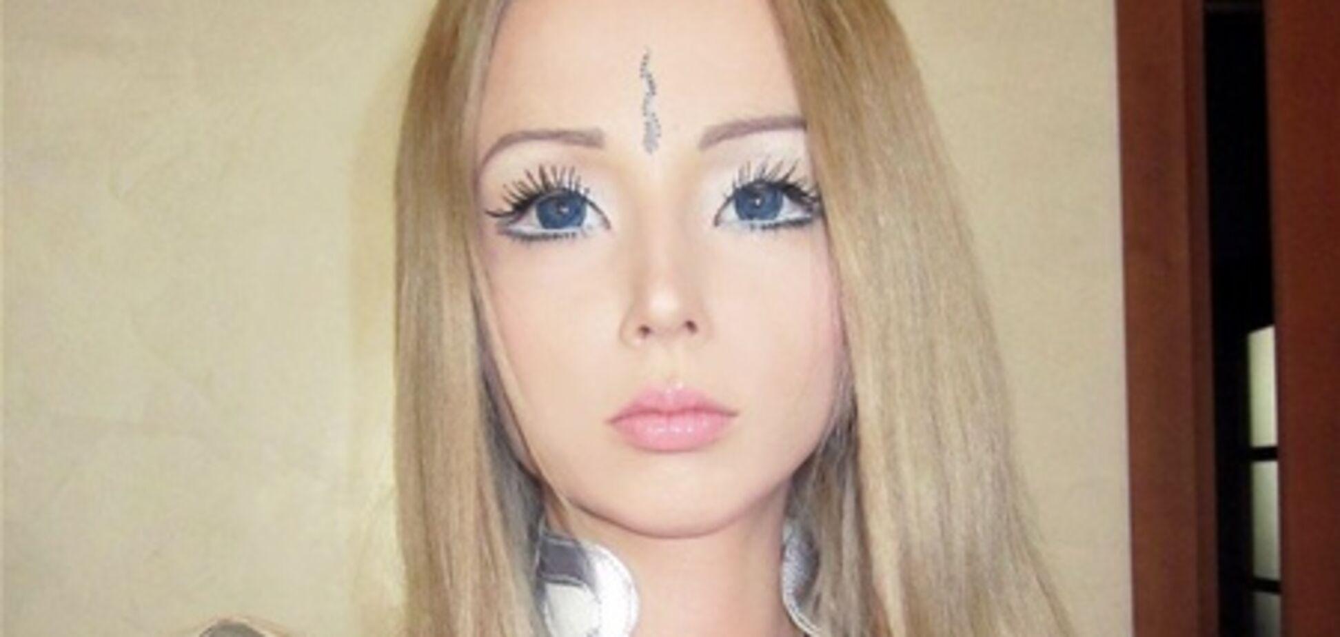 Украинская Барби жалуется на популярность. Фото. Видео