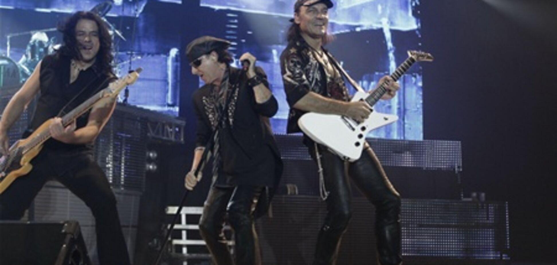 Scorpions дал свой последний концерт в Киеве