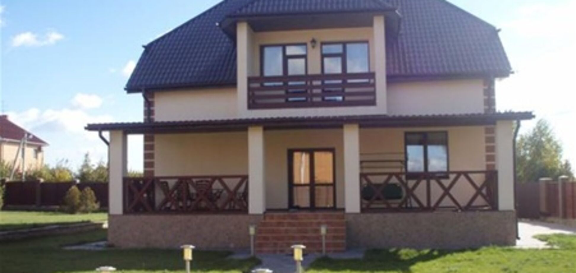 Снизились цены на  дома под Киевом