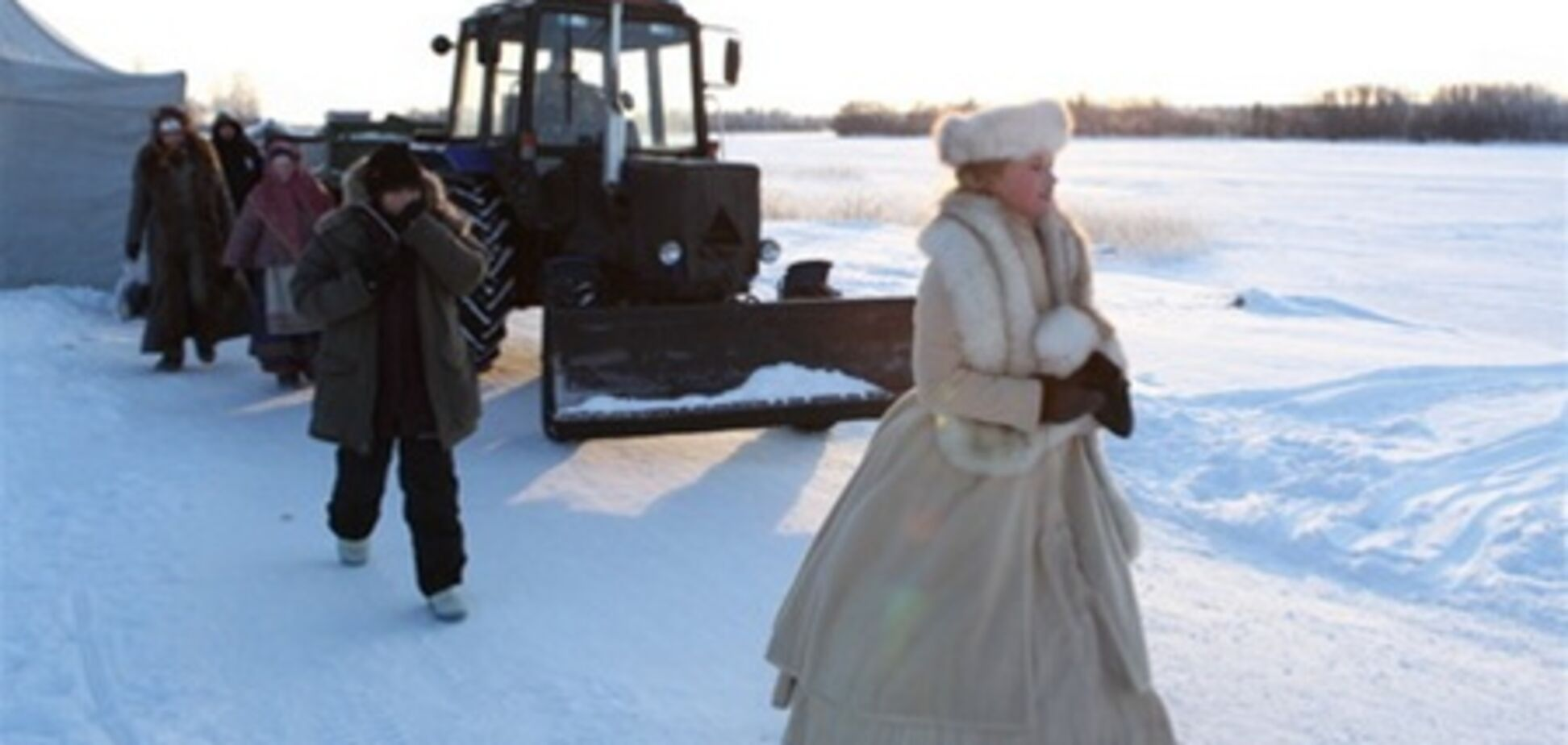 'Анна Каренина': за кадром
