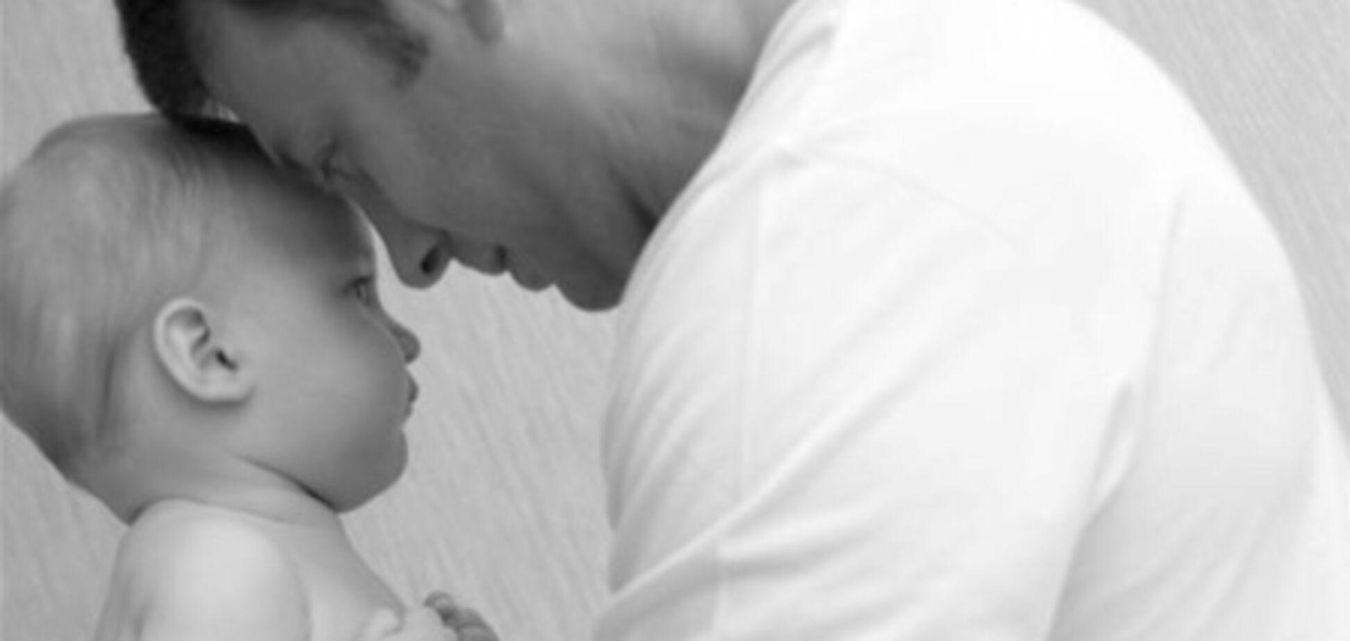 Нагорный обнародовал фото своей недавно родившейся дочери