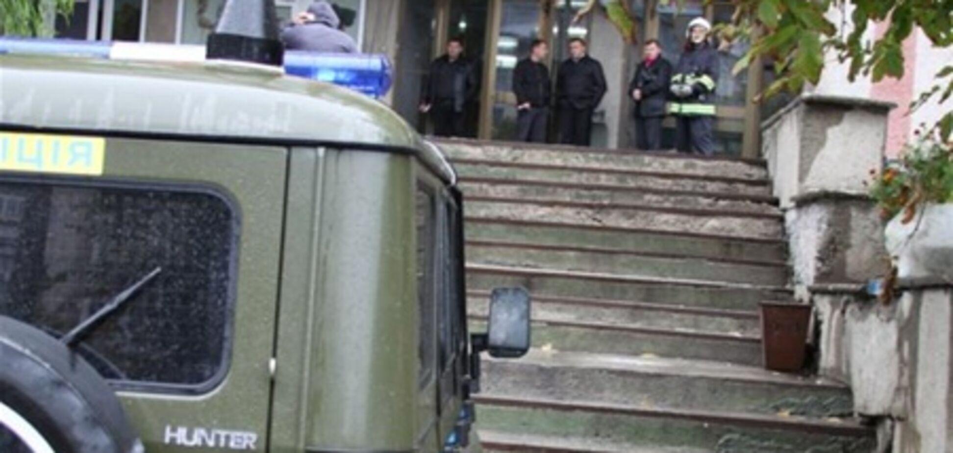В центре Винницы из-за сообщения о минировании было эвакуировано 1 тыс. человек