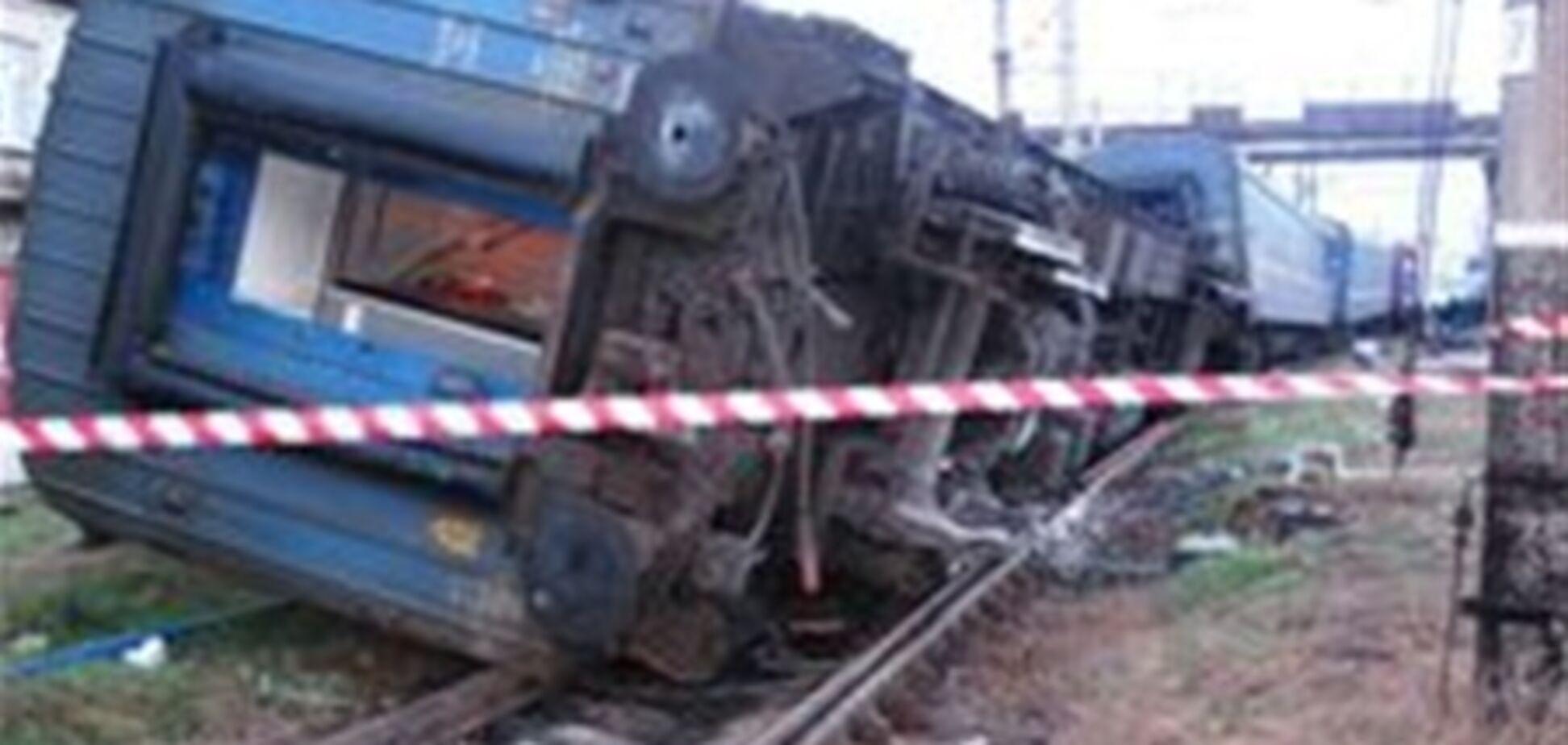 Пасажирів з перекинувся в Запорізькій області поїзда відправили новим складом