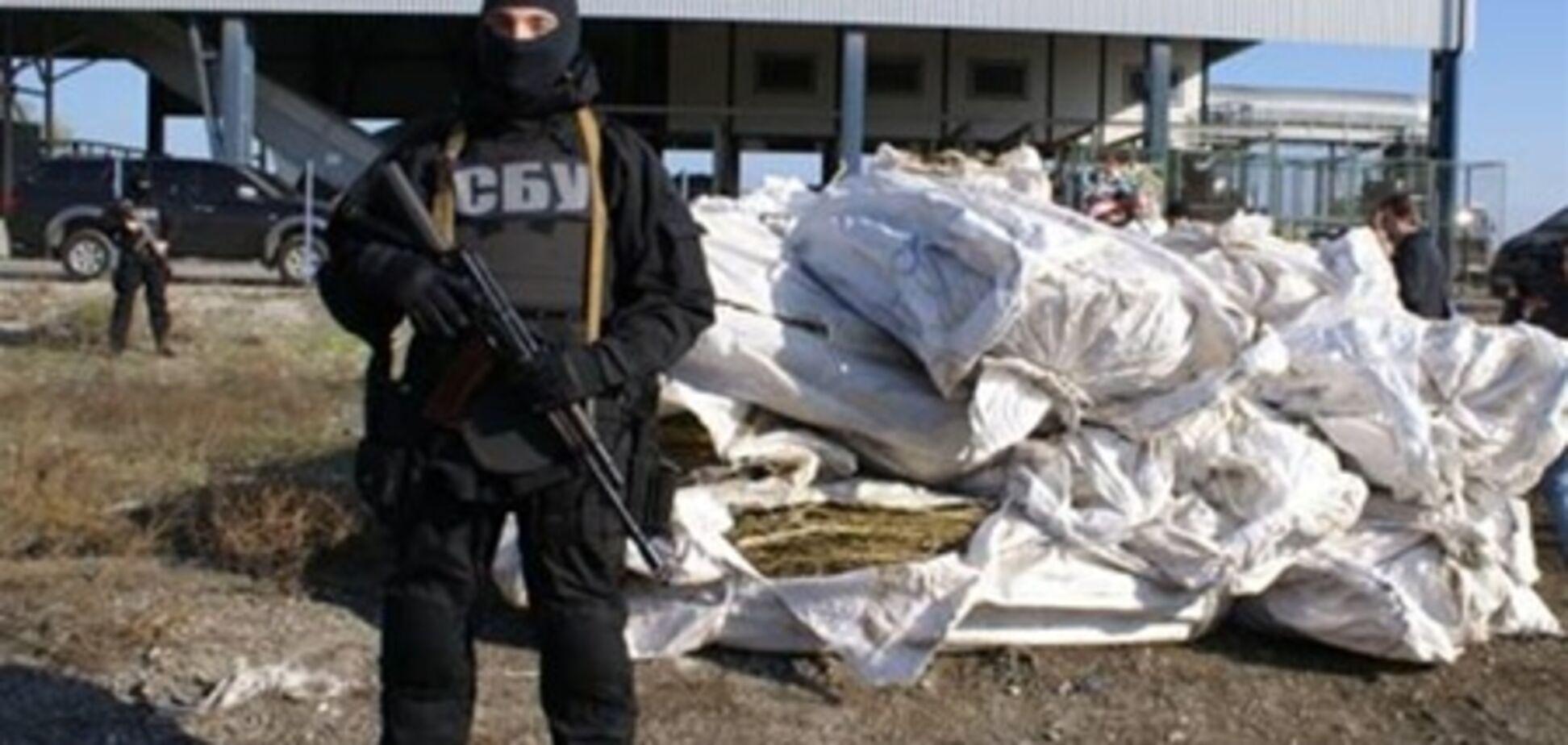 На Запорожье СБУ уничтожила 532 кг наркотиков