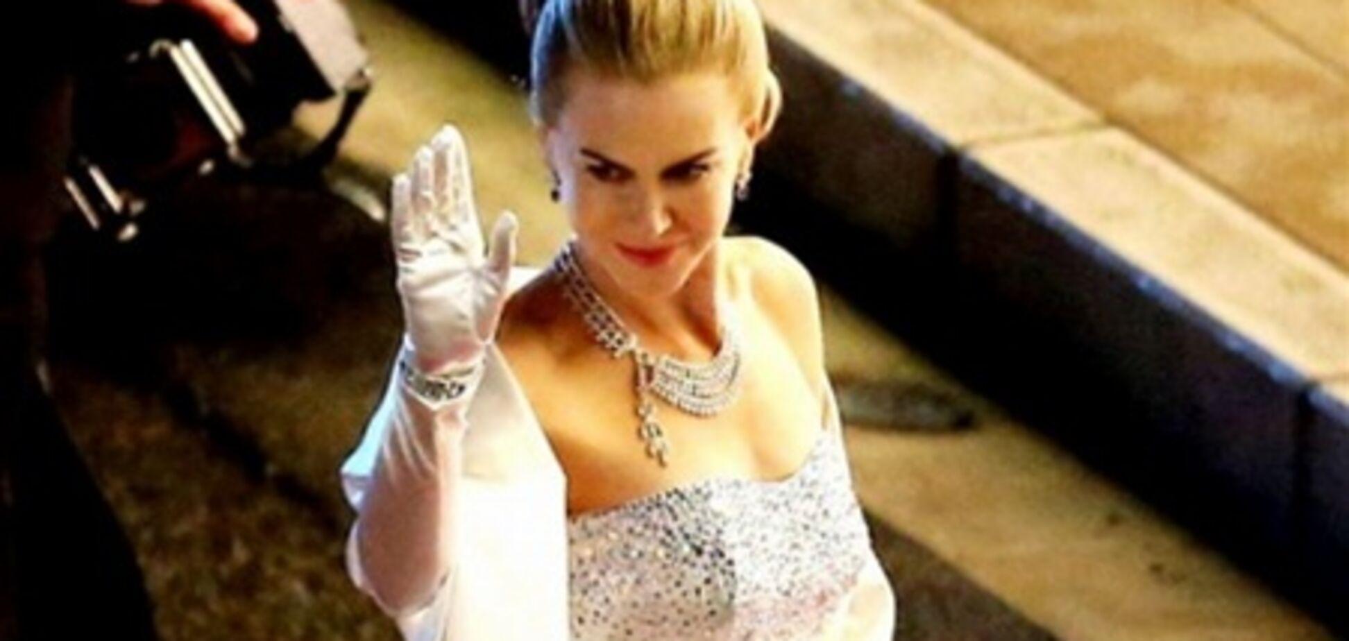 Николь Кидман в платье принцессы