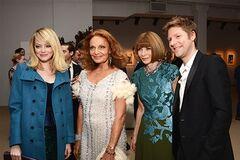 Звезды собрались на модную вечеринку от Vogue. Фото