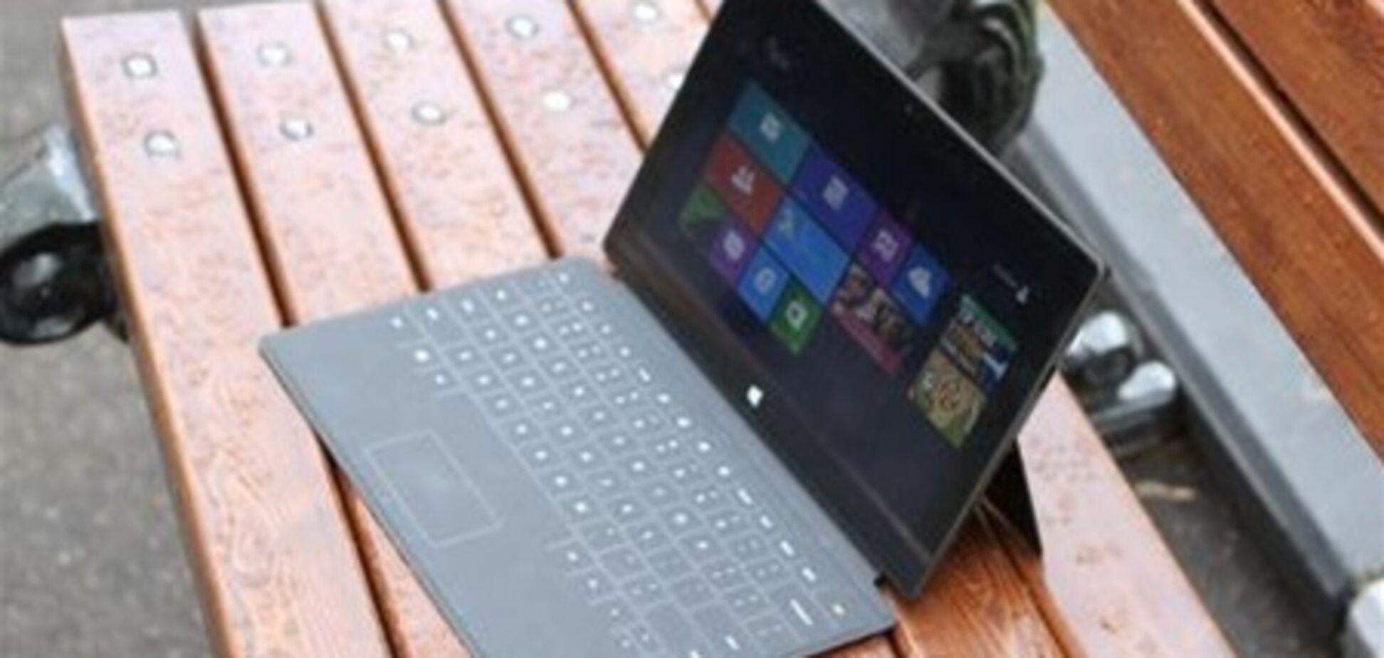 Продажи планшетов Microsoft Surface очень скромные