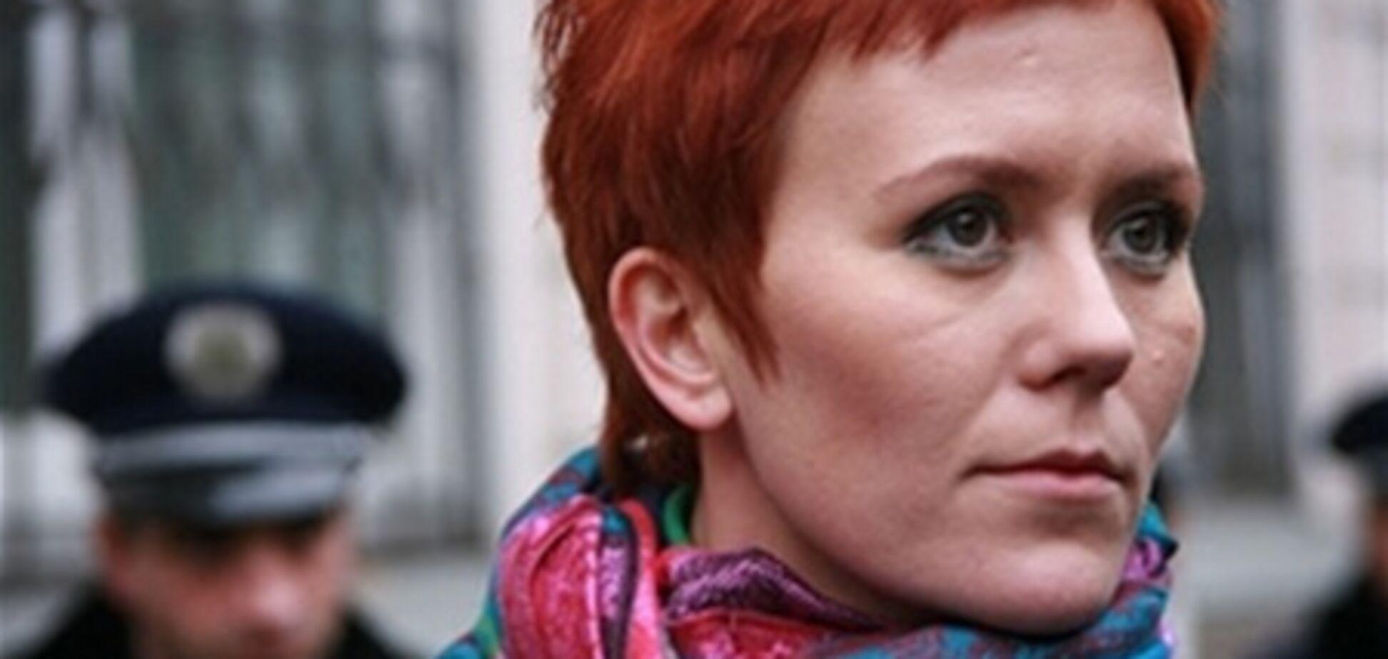 В Санкт-Петербурге арестовали лидера Femen
