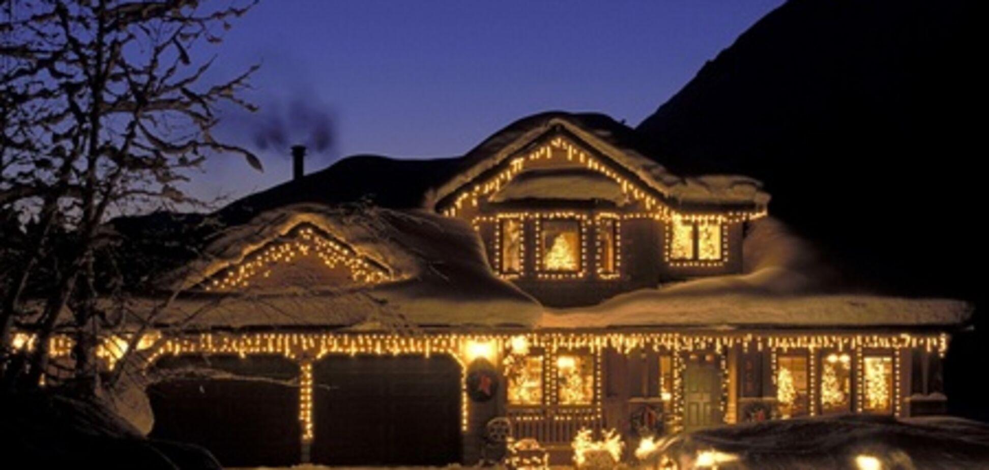 Сколько стоит домик в новогоднюю ночь?