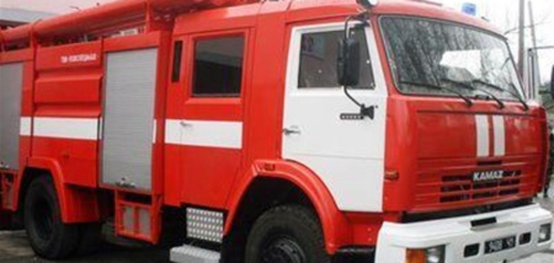 У Черкасах пожежний автомобіль врізався в маршрутку