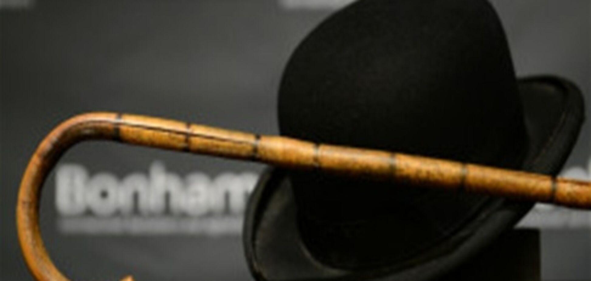 На аукціоні в США продана капелюх і тростину Чапліна
