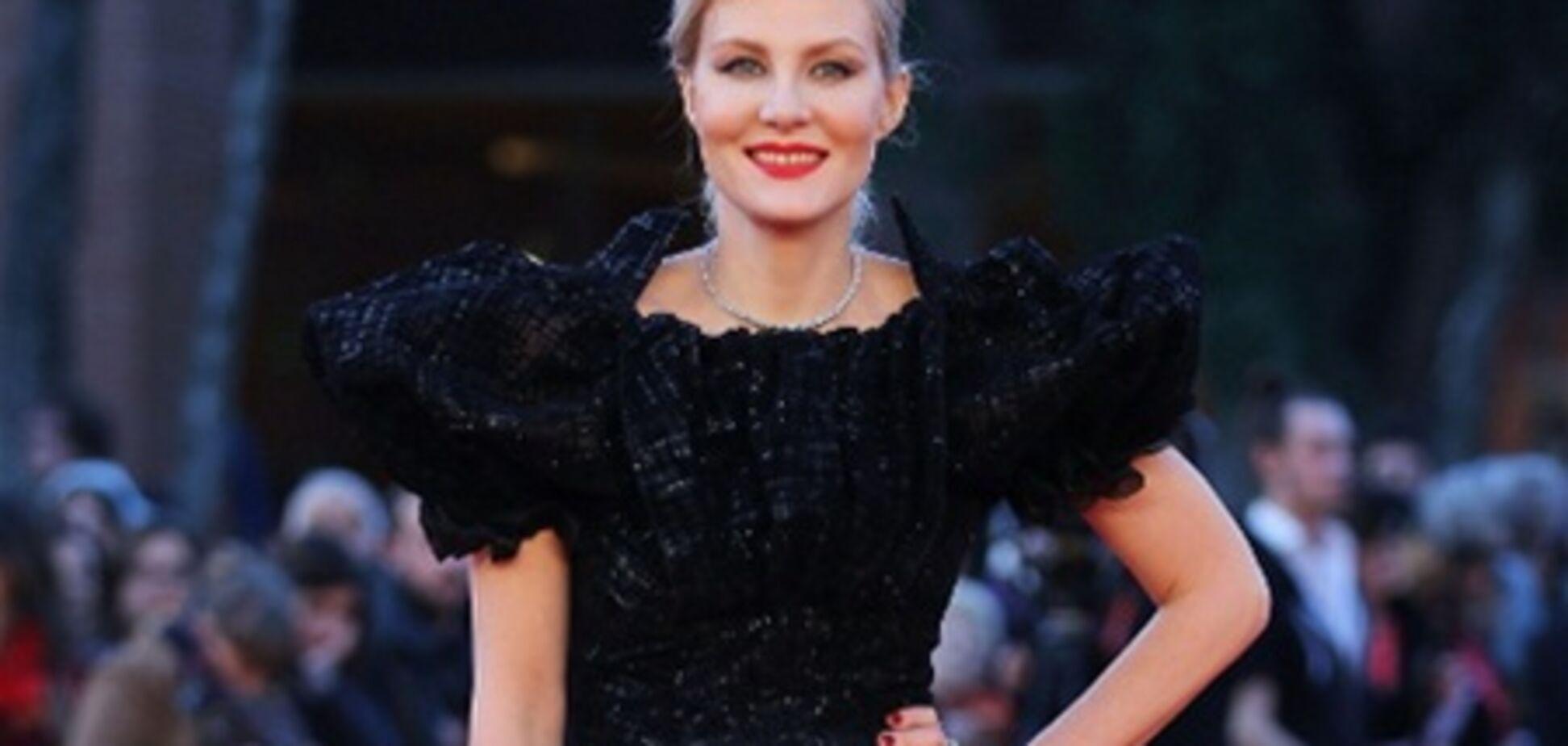 Рената Литвинова на красной дорожке Римского кинофестиваля