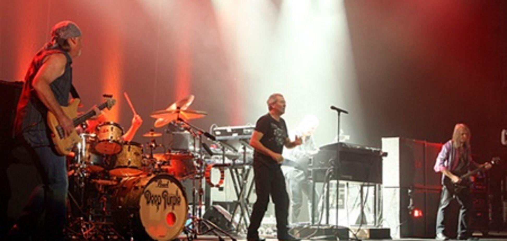 Deep Purple довели украинских фанатов до слез. Фото