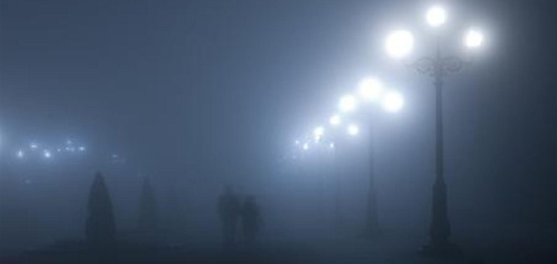 ДАІ просить водіїв бути уважнішими на дорозі через туман