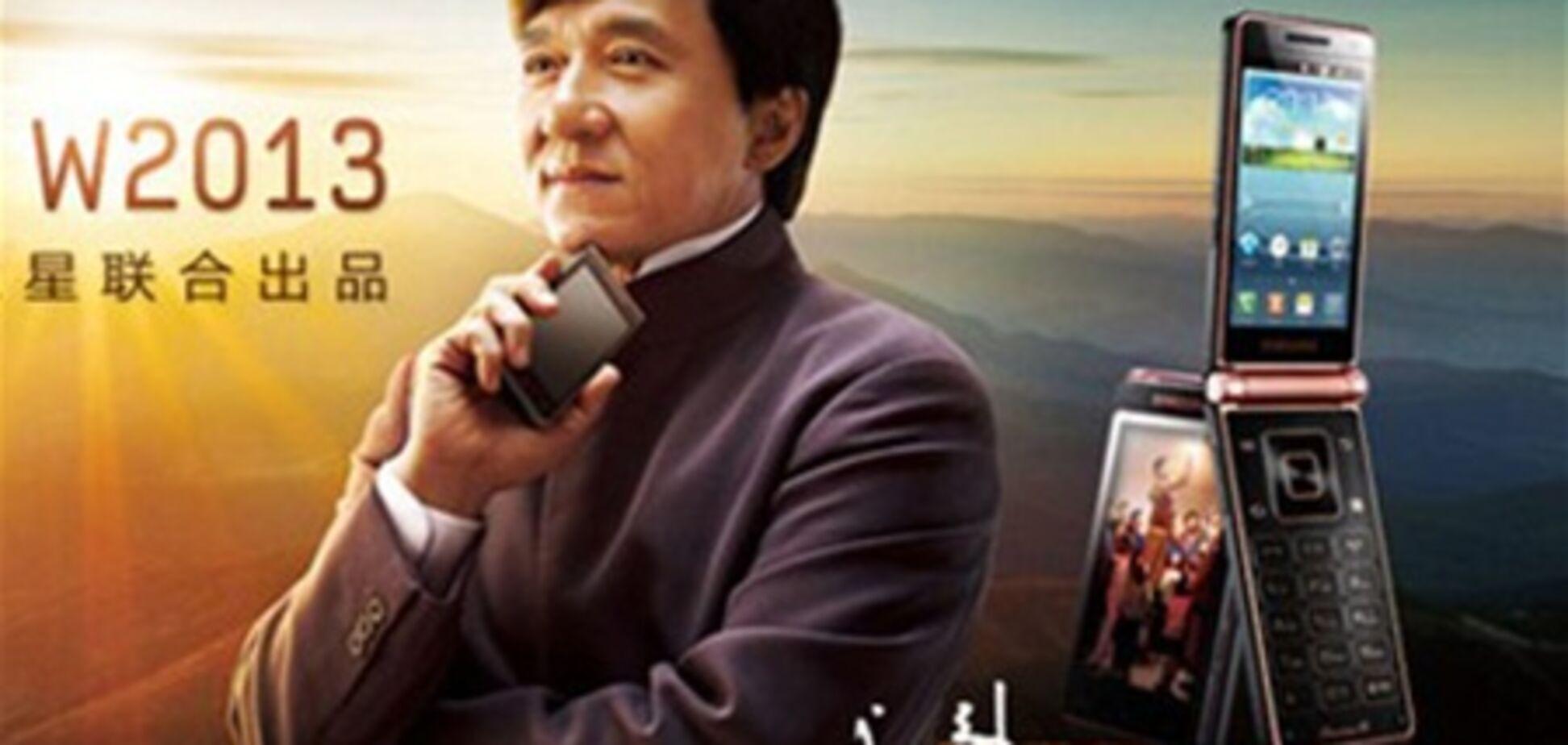 Джеки Чан представил в Китае телефон за $3000