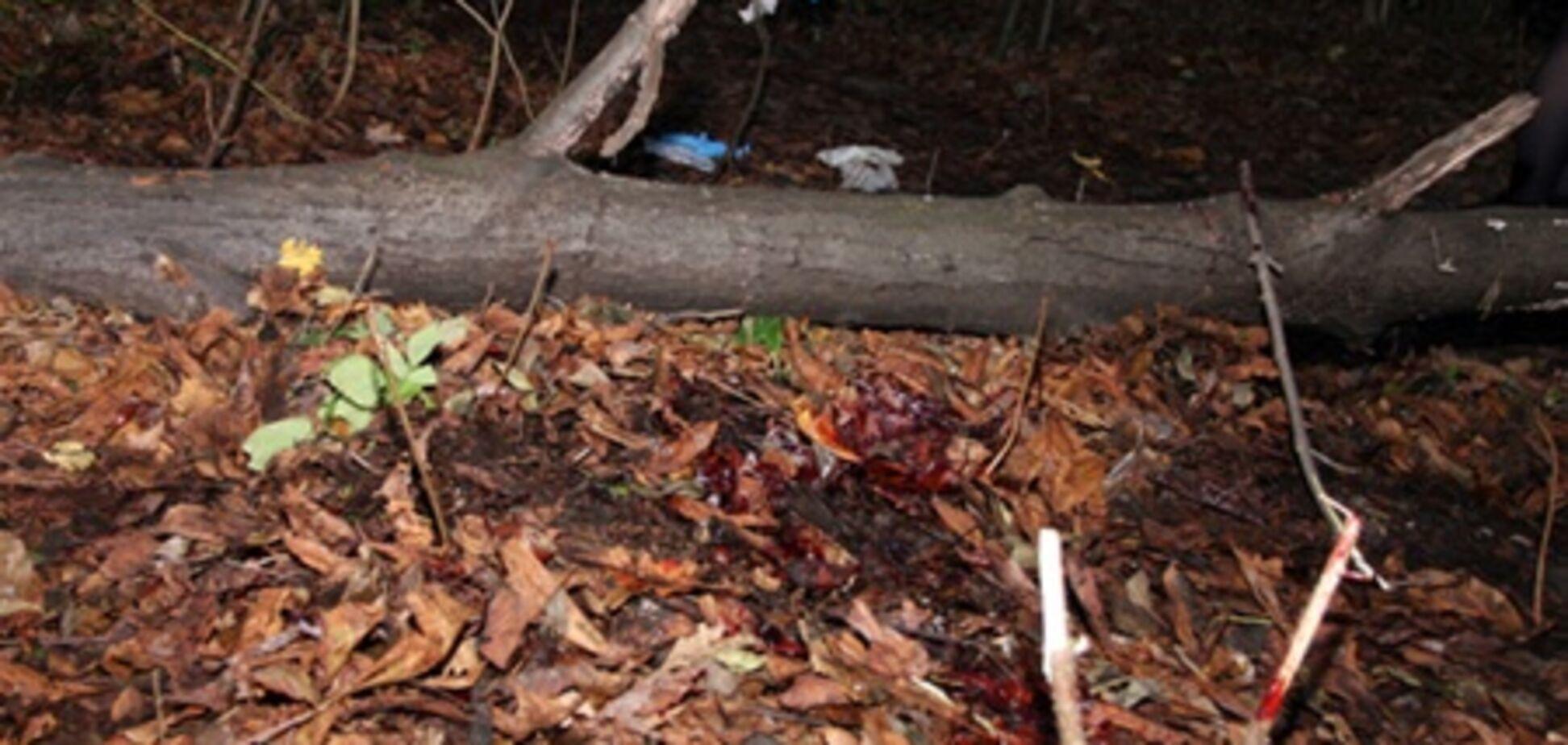 На месте убийства Мазурка много крови, милиция уехала