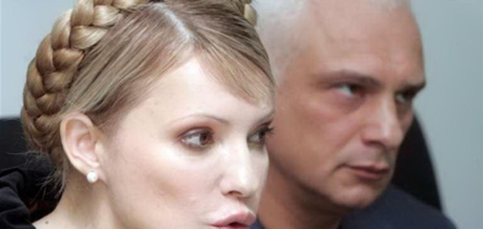 Александр Тимошенко призвал жену прекратить голодовку