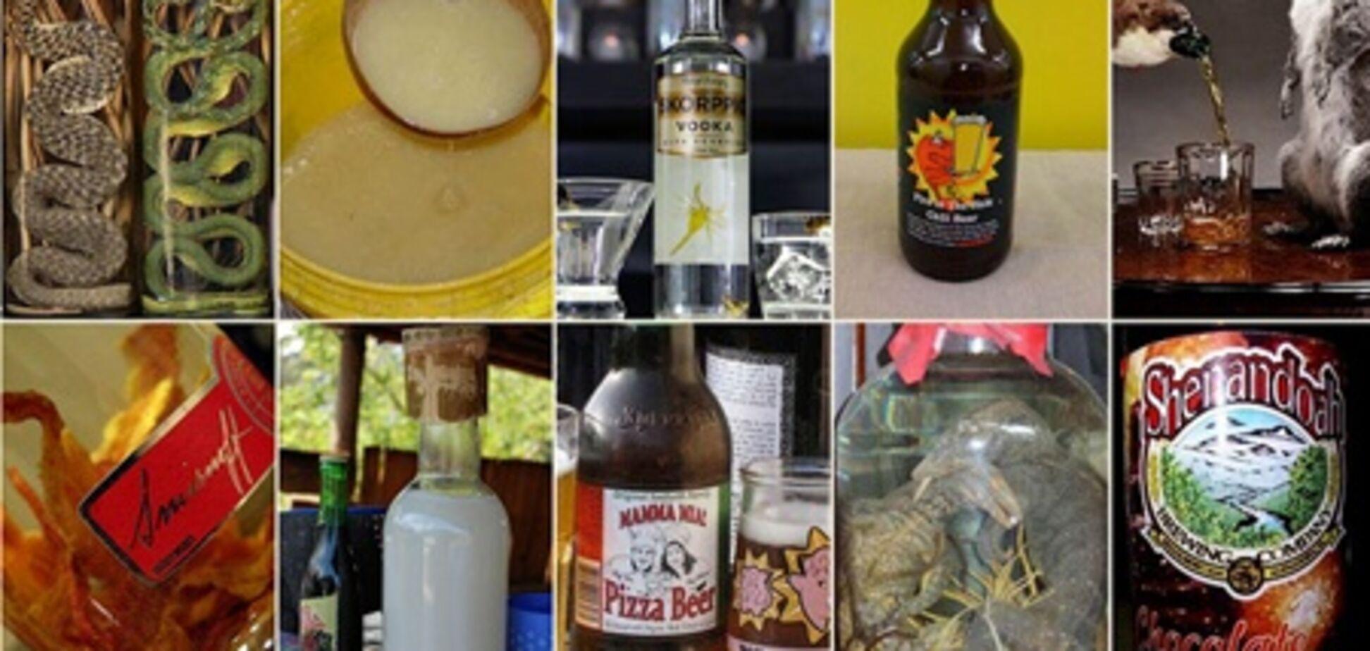 10 самых необычных алкогольных напитков в мире