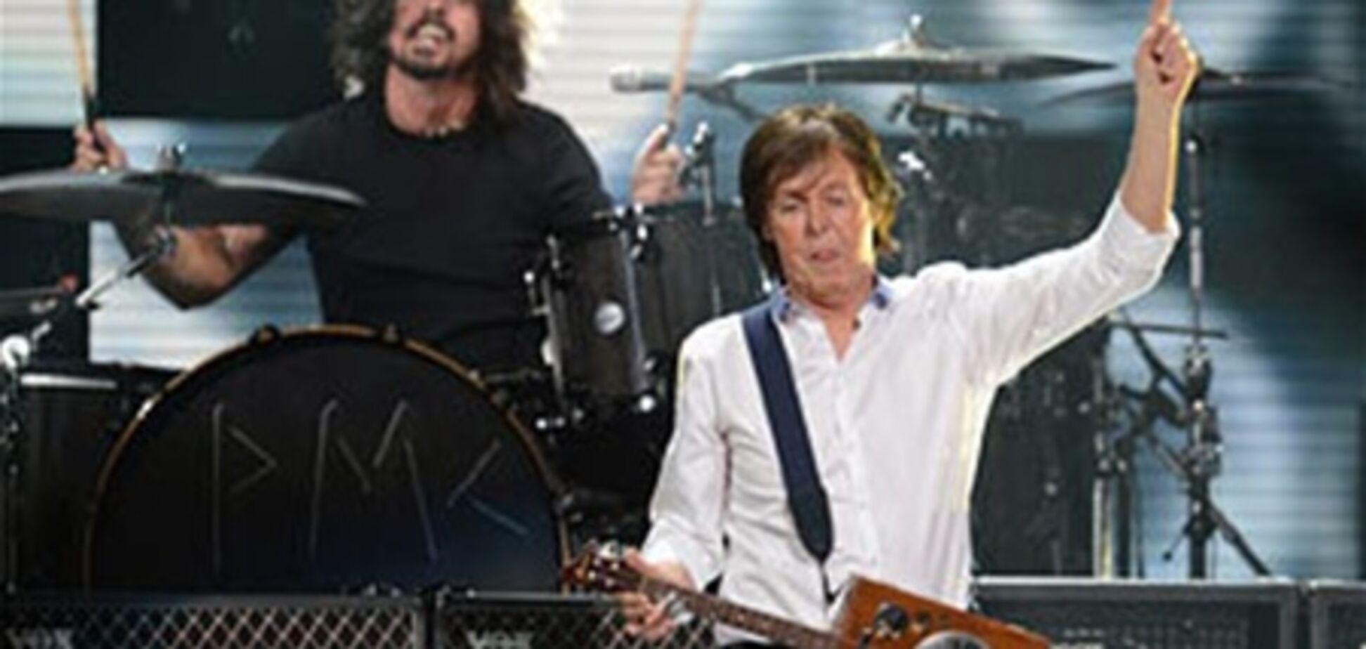 Маккартни сыграл вместе с Nirvana. Видео
