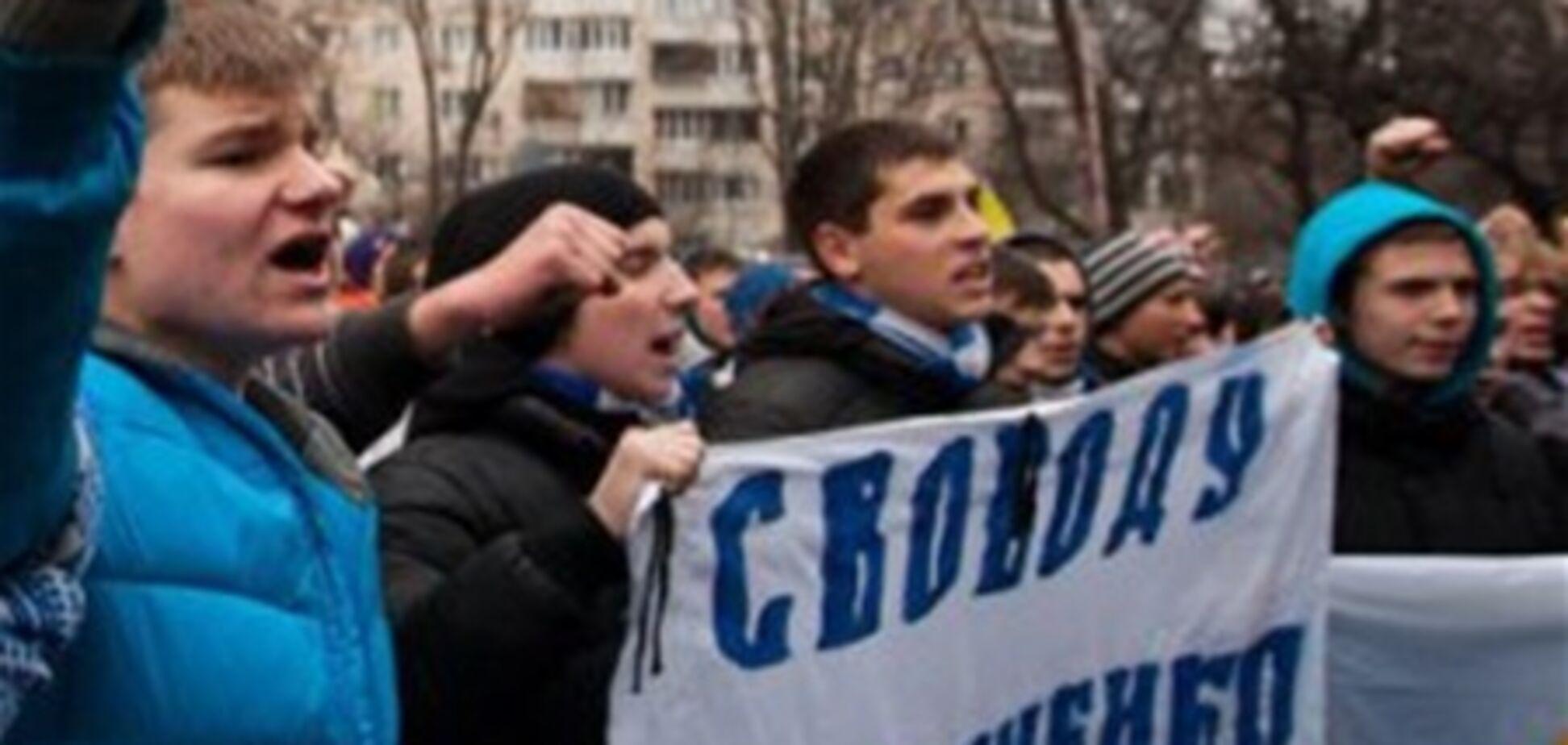 У Харкові затримано 20 учасників ходи на підтримку Павличенко. Відео