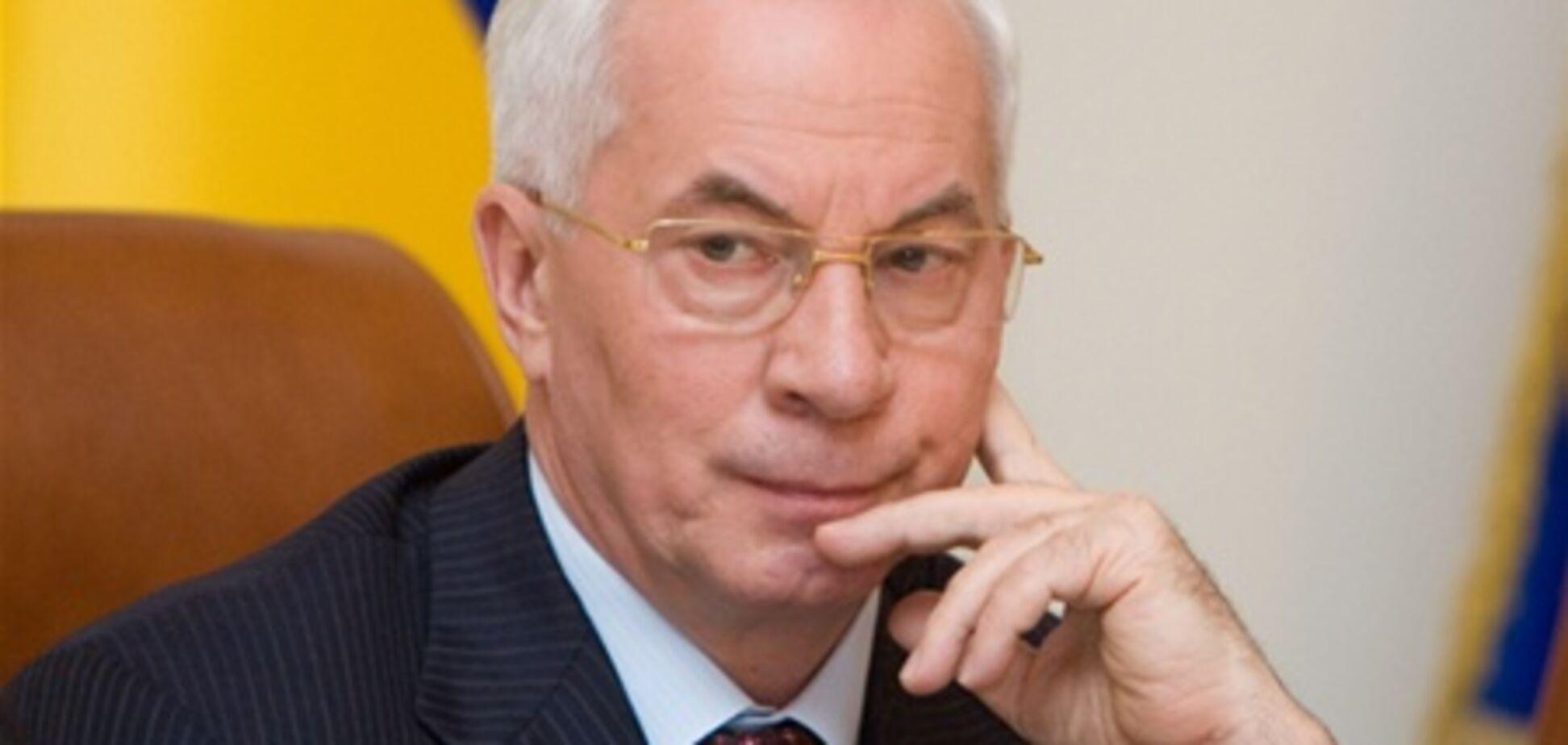 Азаров кличе опозицію на переговори