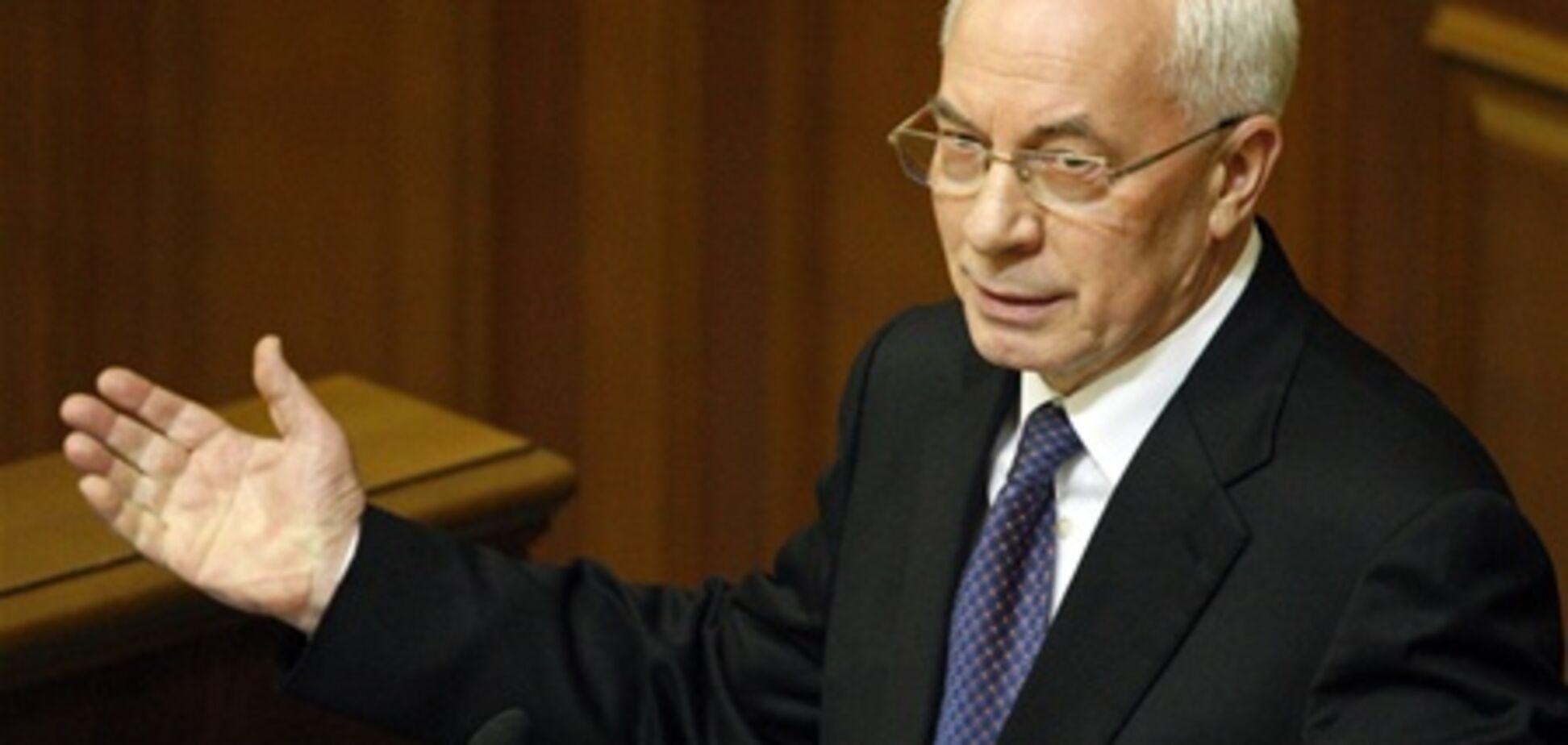 Азаров побачив між парламентських бійок компроміс