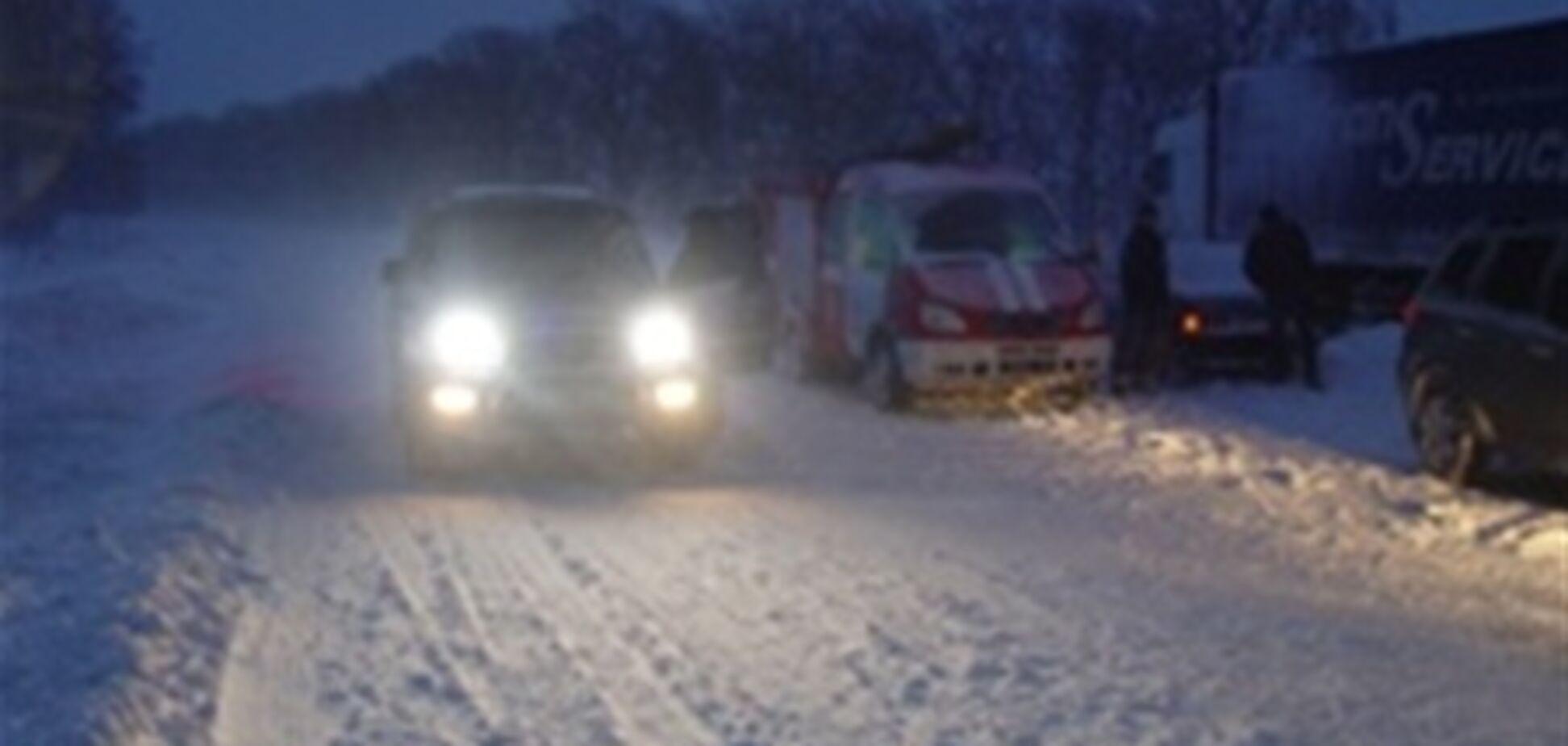 Жінка, евакуйована 'пожежкою' із затору Київ-Чоп, народила двійню
