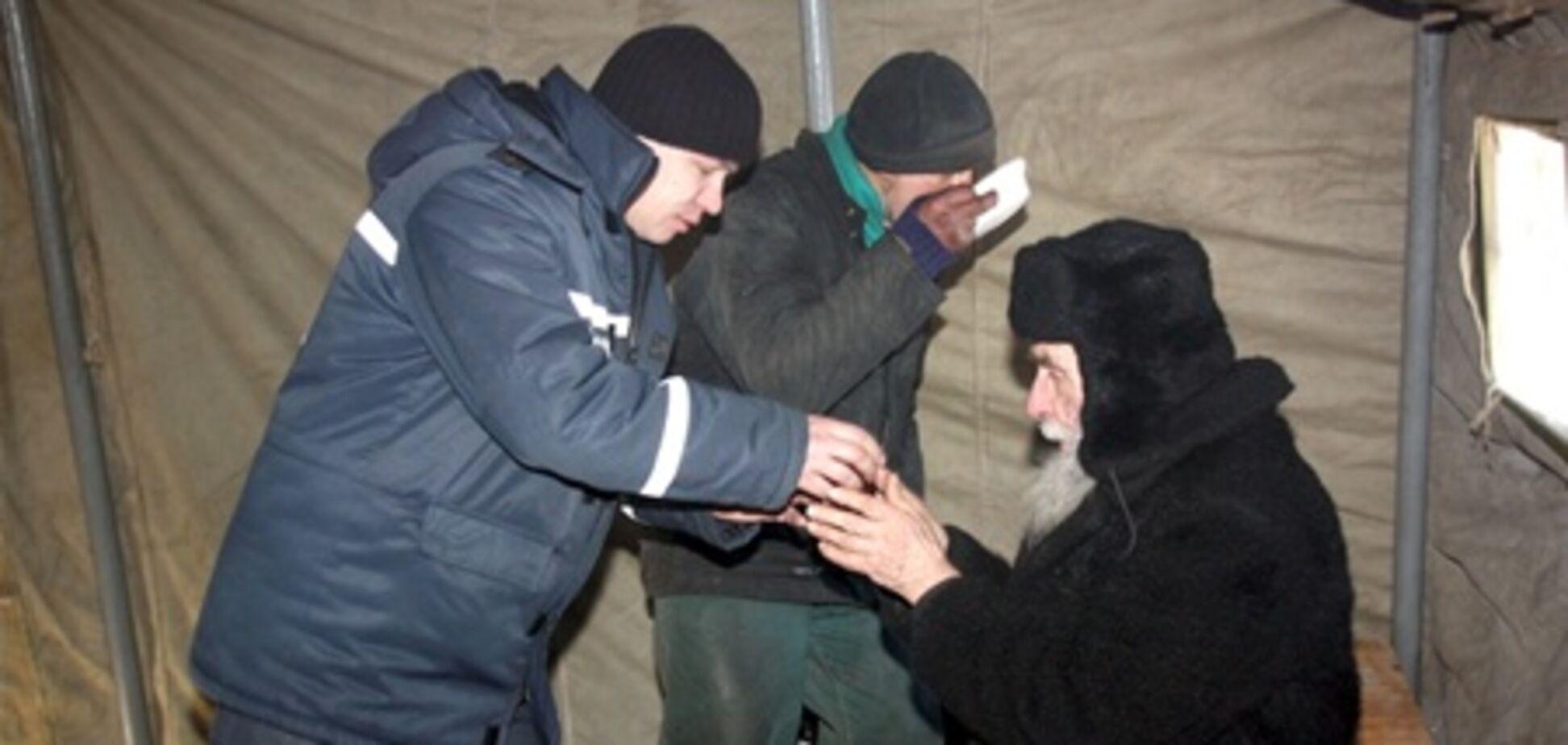 В Україні через морози вже померло 18 людей