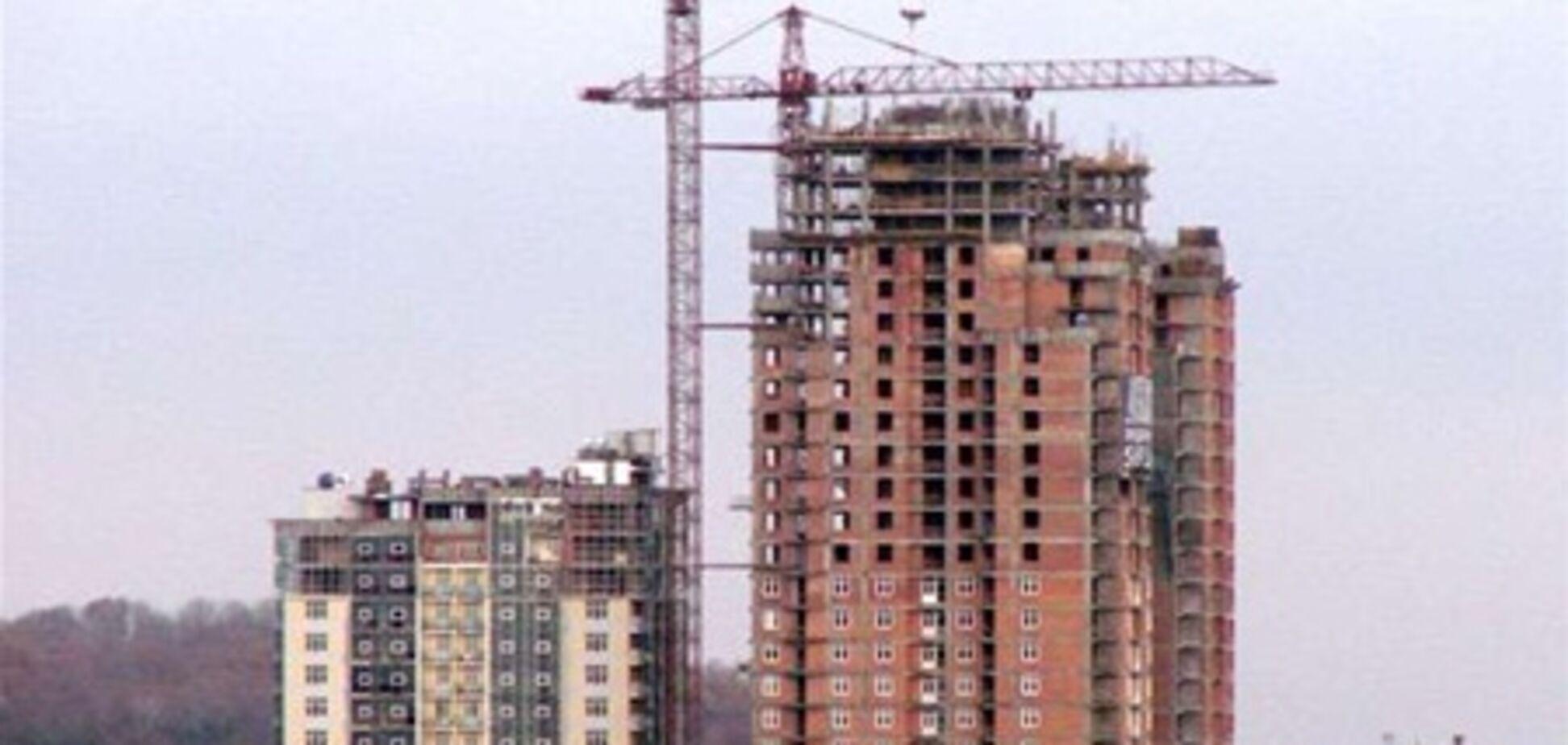 Падение объемов строительства увеличилось до 12%