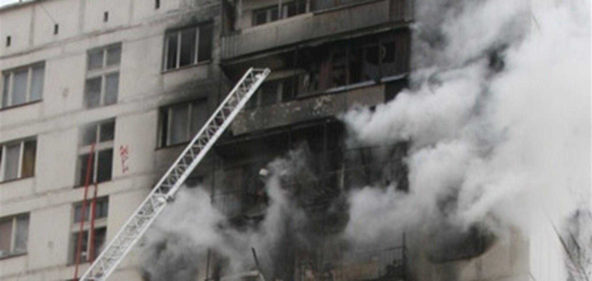 У будинку, де стався вибух у Харкові, знайшли газовий балон і камін