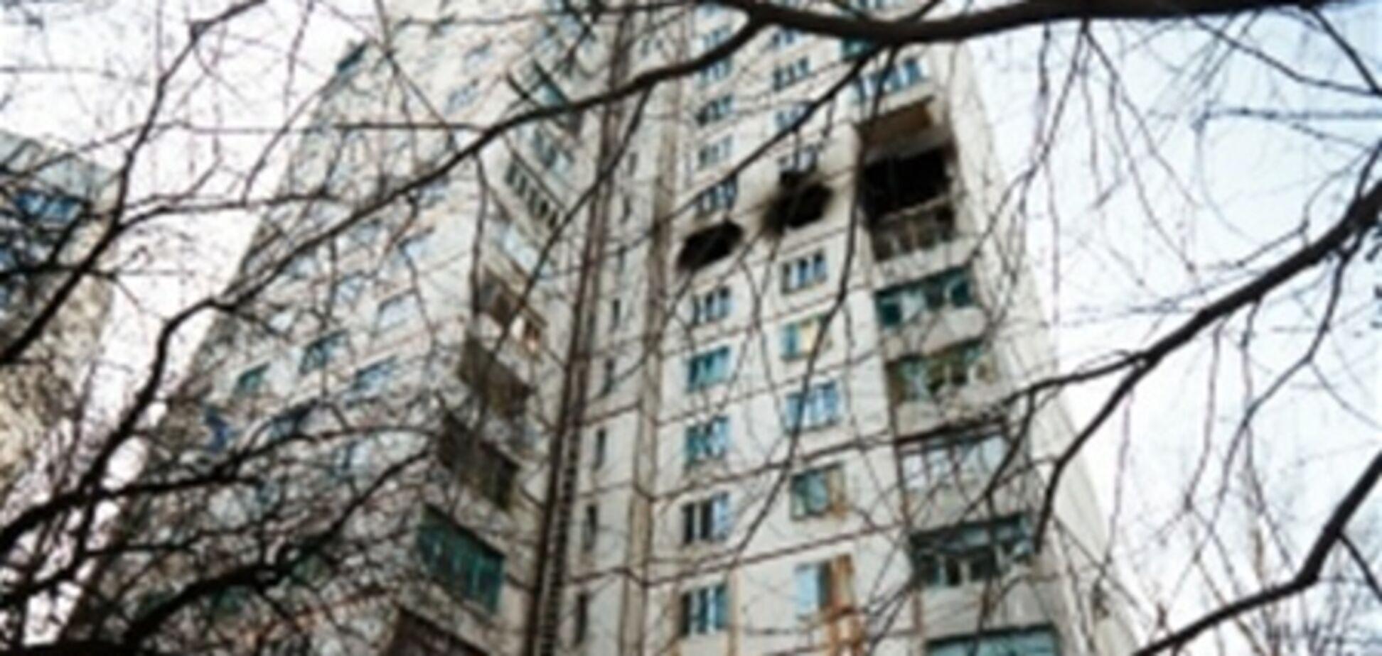 Пошкоджений від вибуху будинок в Харкові підключили до тепла