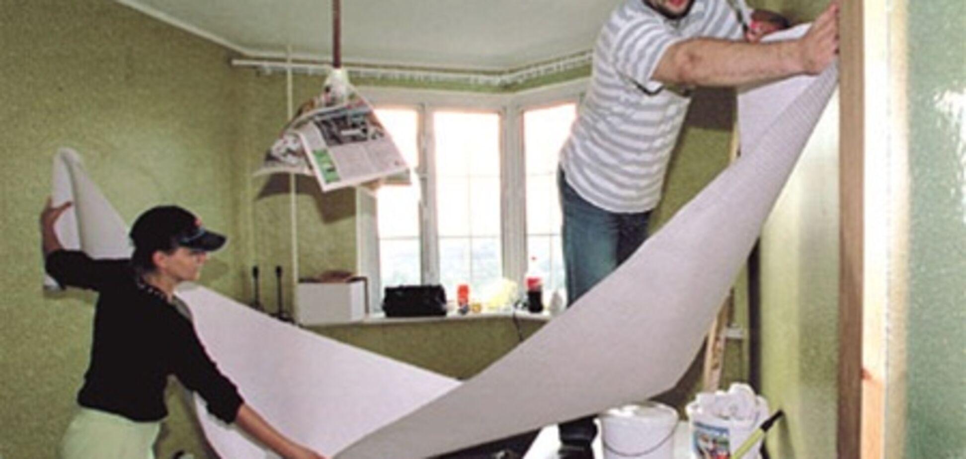 Киевляне делают ремонт в среднем 1 раз в 5 лет