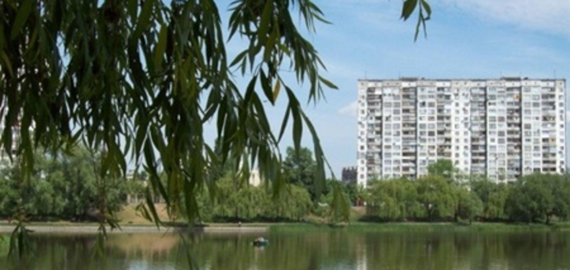 Озеро Вербное на Оболони приведут в порядок