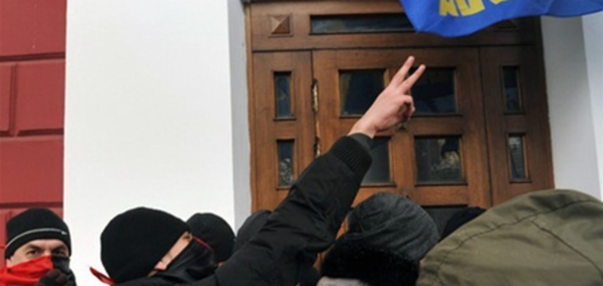 Штурм мерії Одеси розслідує міліція. Відео