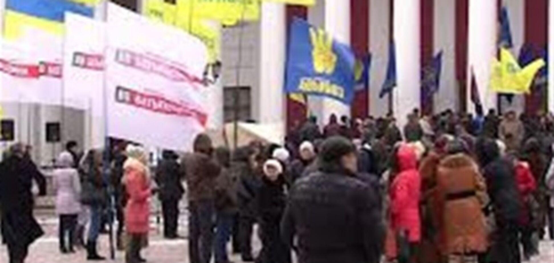 Міліція затримала одного з учасників штурму мерії Одеси