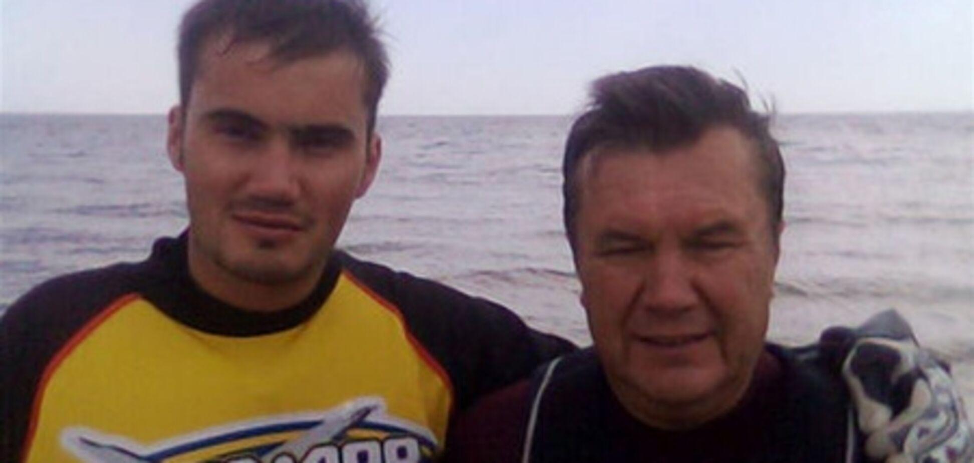 Янукович и его сын признаны самыми влиятельными людьми Украины