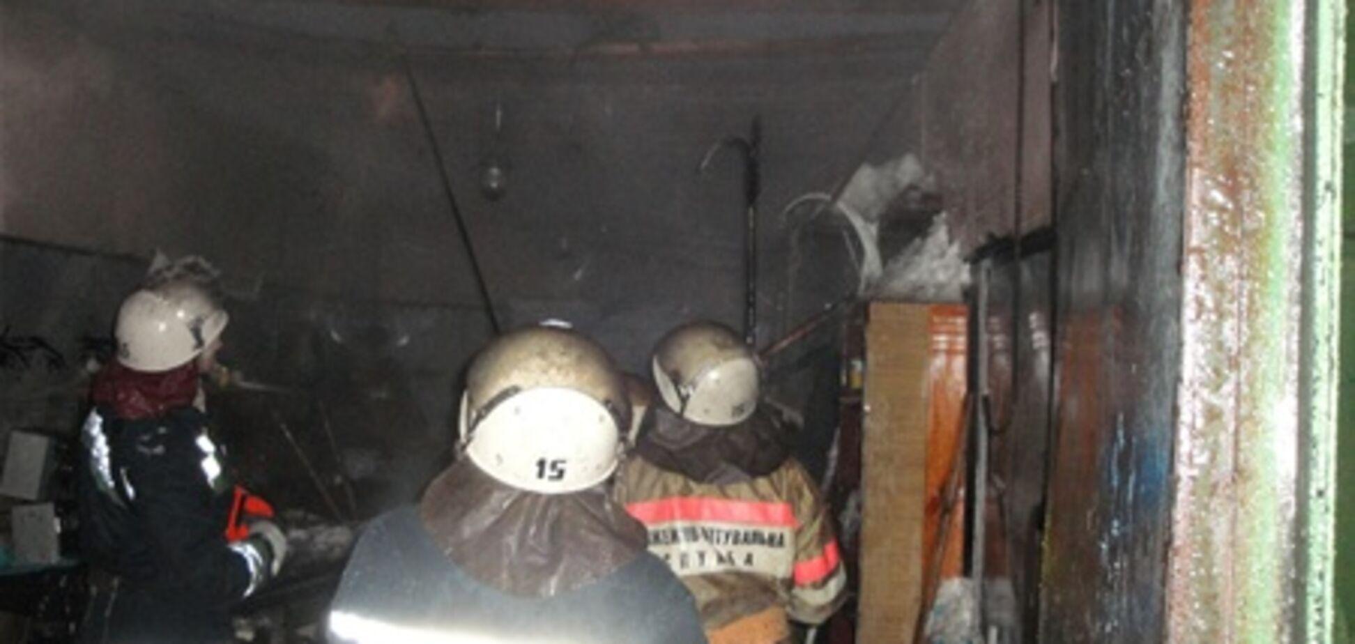 Пожежа на території Києво-Печерської Лаври ліквідовано