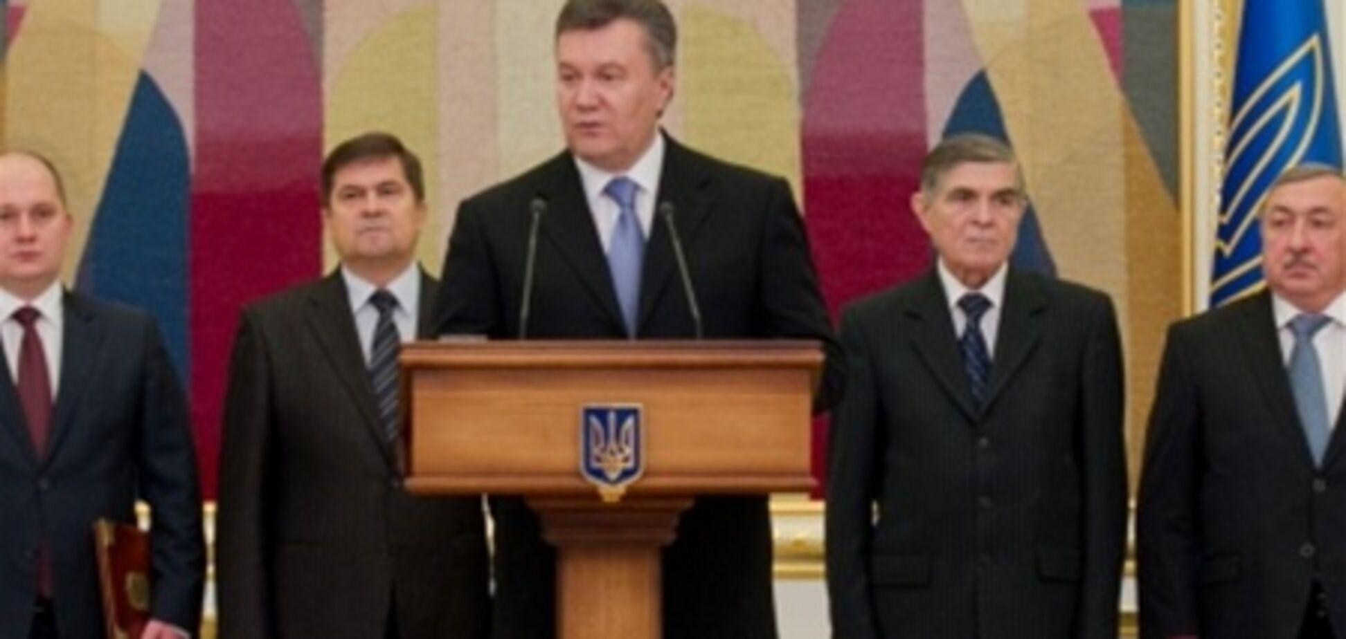Янукович: Україна в 2012 не змогла поліпшити свій імідж