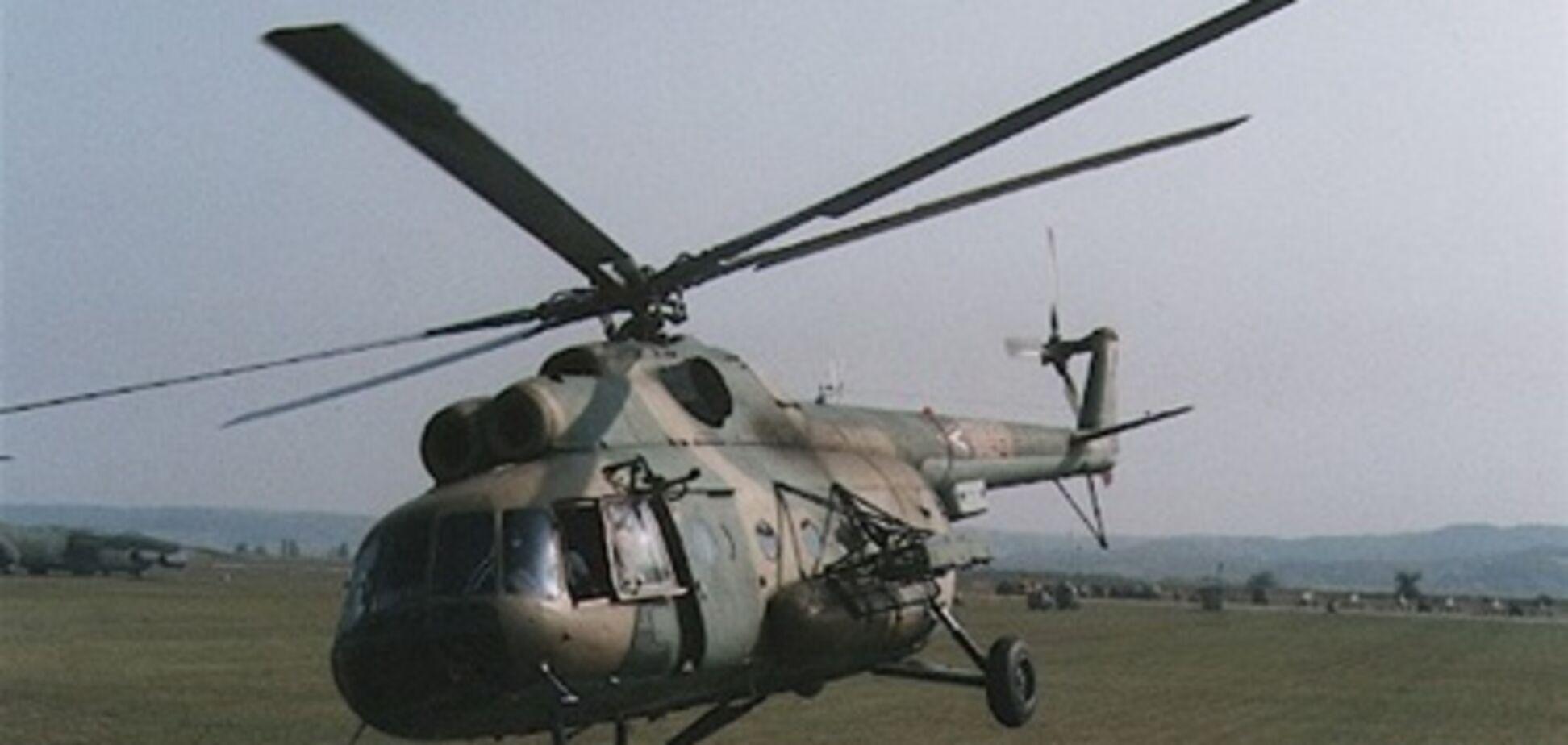 На Кіровоградщині впав вертоліт: є жертви