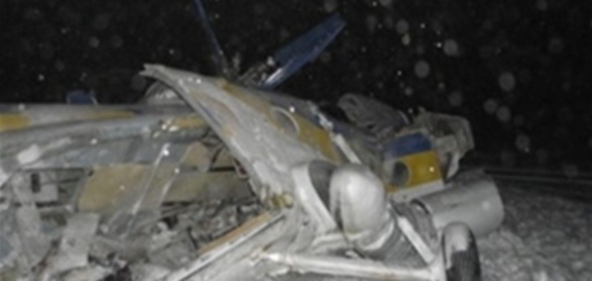 На місце аварії Мі-8 прибуло вище керівництво МВС