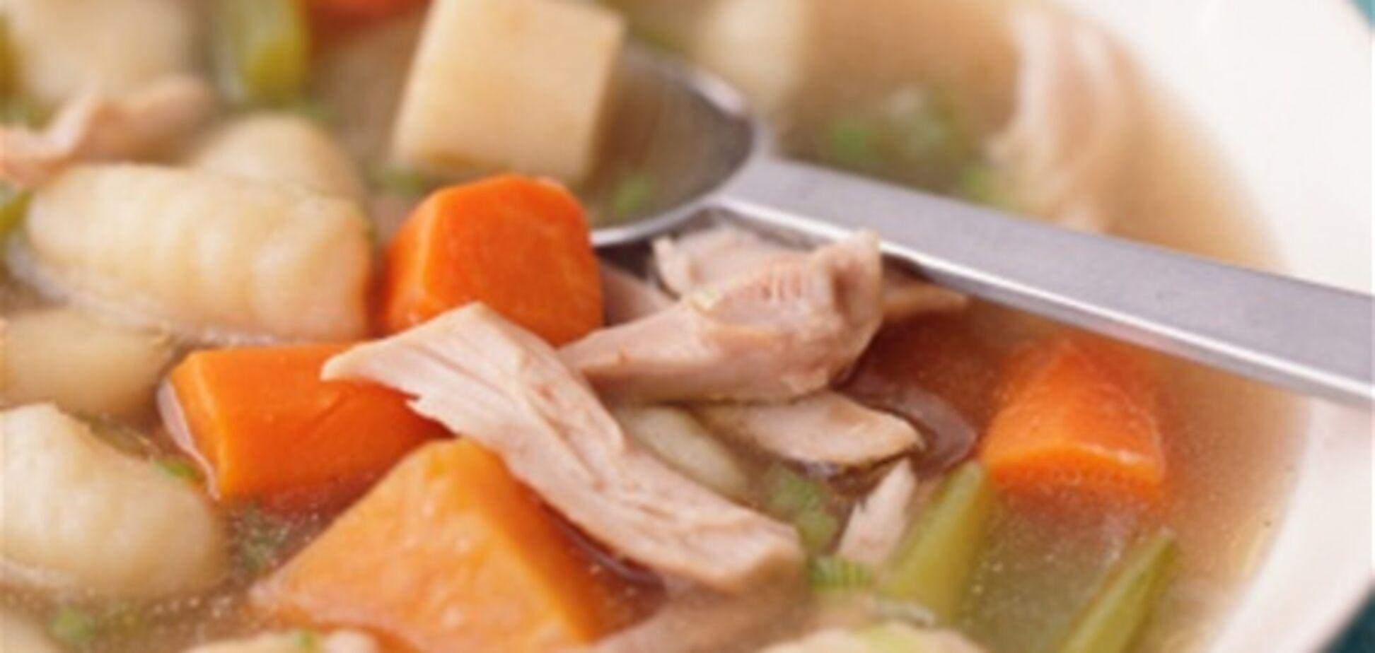 Куриный суп – лекарство от простуды и инсульта