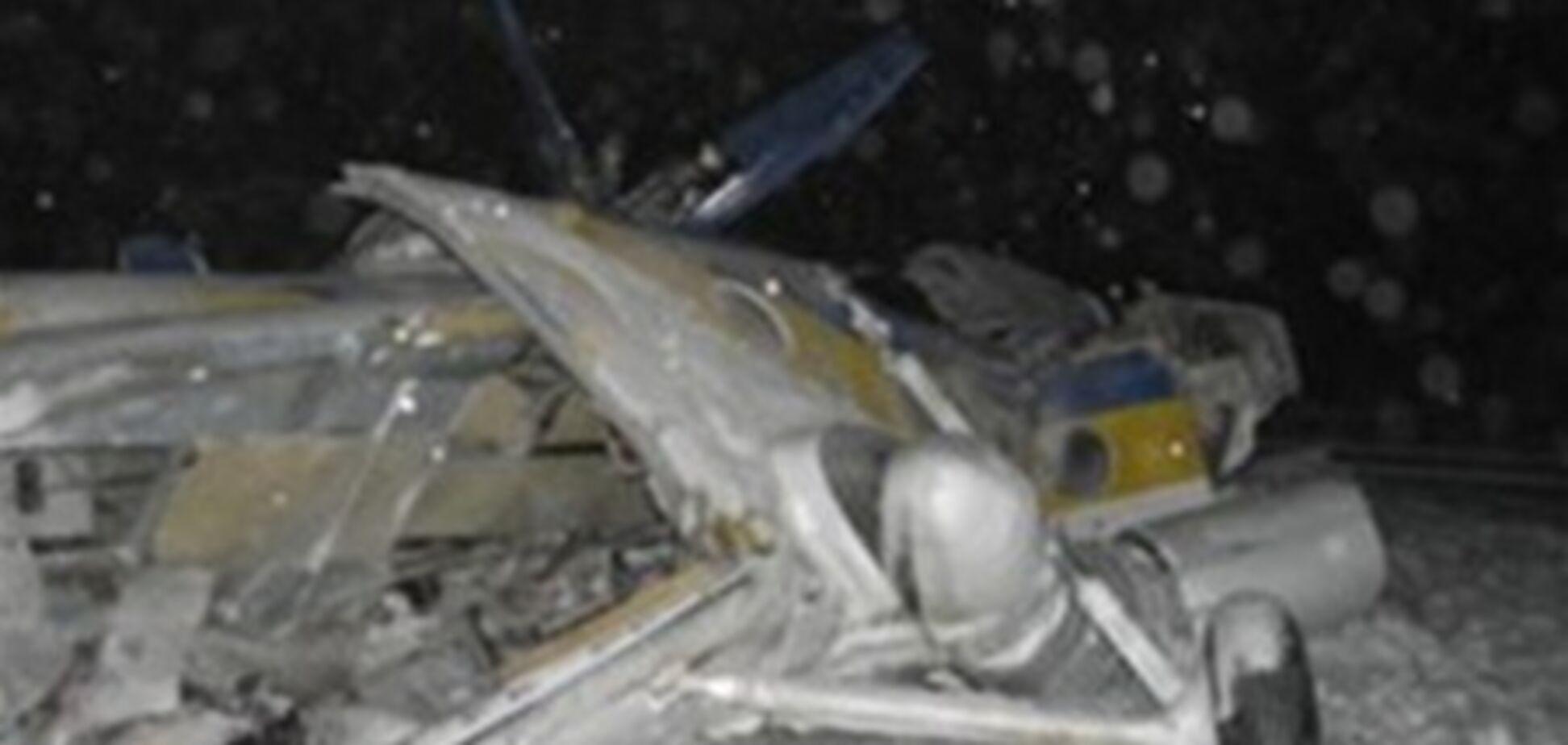 Військові не давали знімати місце аварії вертольота МВС