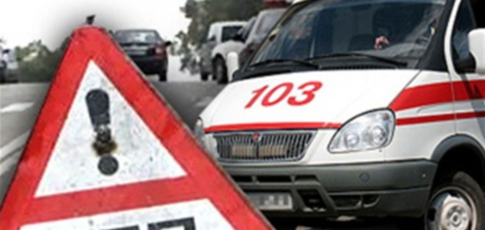 На Вінниччині чоловік на 'Жигулях' протаранив автобус з дружиною
