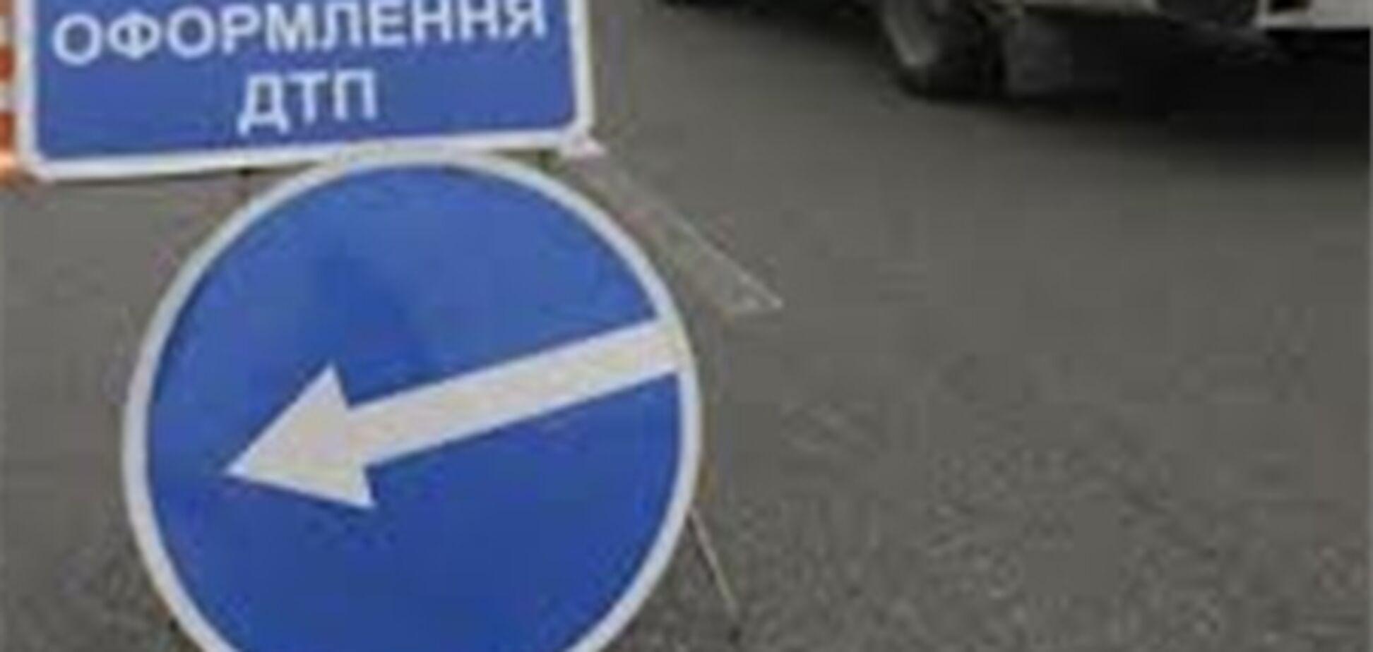 На Дніпропетровщині перекинулася маршрутка з пасажирами