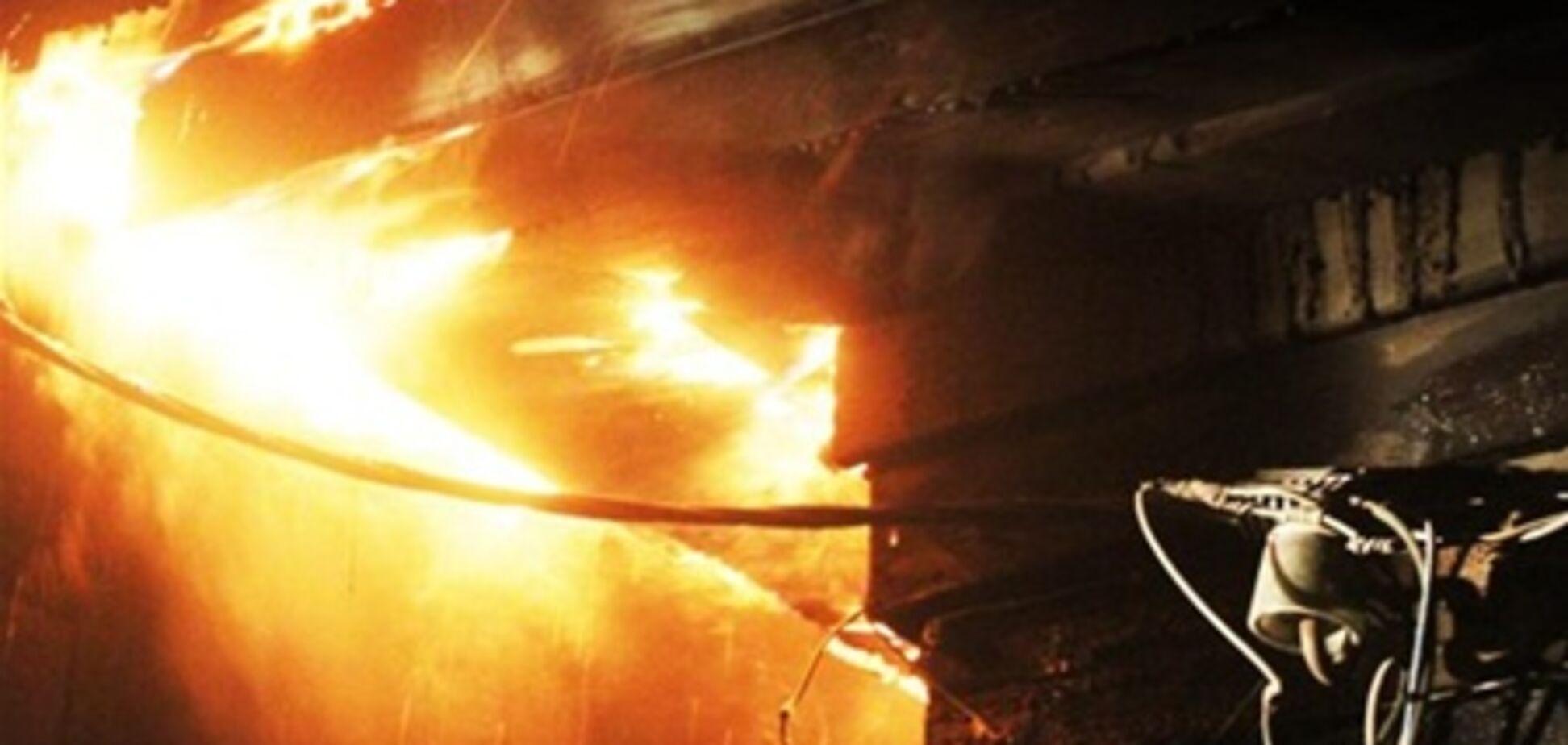 На Полтавщині замикання електропроводки спричинило пожежу