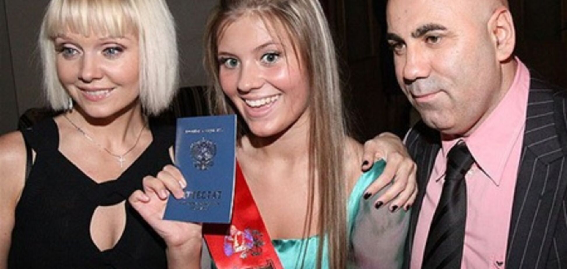 Дочь Валерии приехала покорять Киев